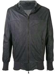 Giorgio Brato куртка на молнии с капюшоном