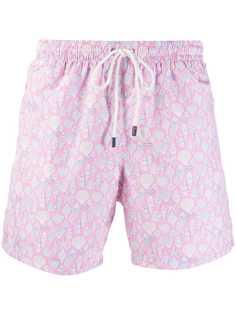 Fedeli плавки-шорты с принтом