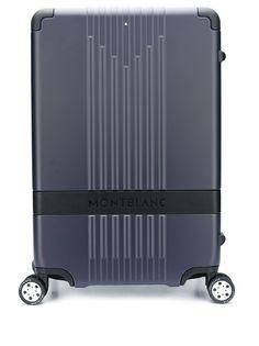 Montblanc чемодан с тисненым логотипом