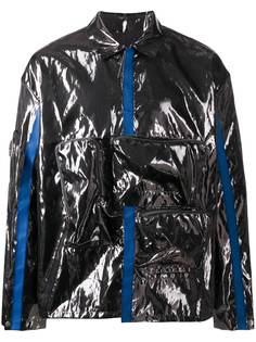 A-COLD-WALL* ламинированная куртка с накладными карманами