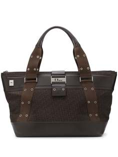 Christian Dior сумка-тоут с узором Trotter 2000-х годов