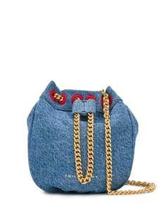 Philosophy Di Lorenzo Serafini джинсовая сумка через плечо с кулиской