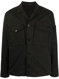 Stone Island куртка-рубашка на пуговицах
