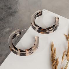 Серьги-кольца Queen Fair