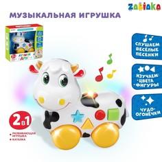 Музыкальная игрушка-каталка Zabiaka