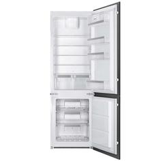 Встраиваемый холодильник комби SMEG C7280NEP1