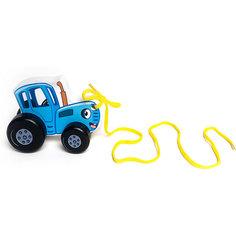 Игрушка-каталка BochArt Синий трактор