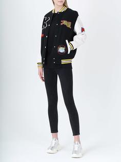 Куртка-бомбер с аппликациями F862BL085540/99 Kenzo