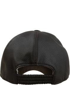 Кожаная кепка Enrico Mandelli