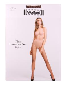 Колготки в сетку Tina Summer Wolford