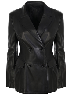 Пиджак кожаный Ermanno Scervino