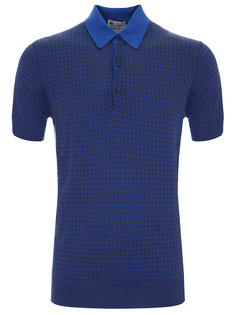Комбинированная футболка-поло Colombo