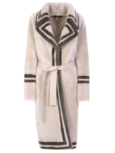 Меховое пальто-дубленка Rochas