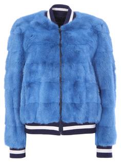 Куртка с мехом норки GISELE1503 Simonetta Ravizza