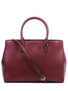 Кожаная сумка-тоут R91AHA99/XOD Dkny
