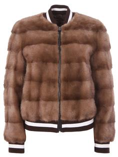 Куртка с мехом норки GISELE1507 Simonetta Ravizza