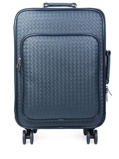Кожаный чемодан на колесиках 004 445086/v4651/4013 Bottega Veneta