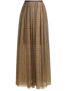 Шелковая юбка moh73g2674 c003 Brunello Cucinelli