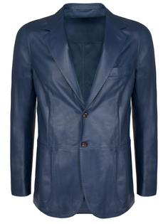 Кожаный пиджак Attolini