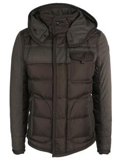 Комбинированная пуховая куртка Moncler