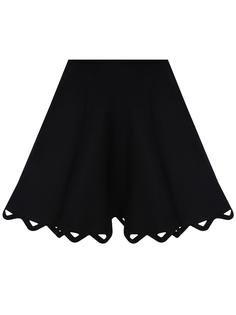 Расклешенная юбка-мини Alaia