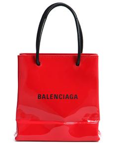 Сумка-тоут Shopping XXS кожаная Balenciaga