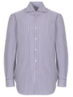 Рубашка Regular Fit в полоску Kiton