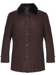Куртка с норковым воротником lucas Massimo Sforza