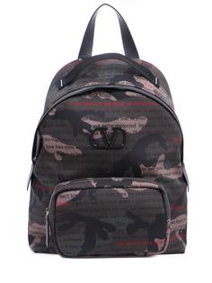 Рюкзак текстильный с принтом TY2B0887XAL Y28 Valentino