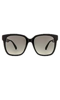 Солнцезащитные очки pop logo oversized wayfarer - Gucci