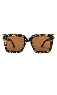 Солнцезащитные очки oversized square - Bottega Veneta