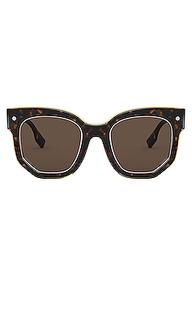 Солнцезащитные очки primrose - Burberry