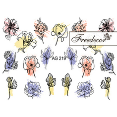 Freedecor, Слайдер-дизайн «Аэрография» №219
