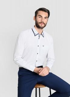Рубашка из жаккардовой ткани O'stin