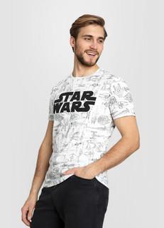 Футболка с принтом Star Wars O'stin