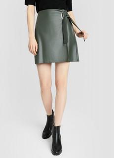 Кожаная юбка-карандаш O'stin