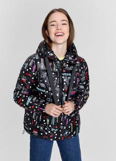Легкая утеплённая куртка с тесьмой O'stin