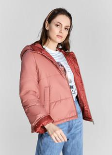 Лёгкая куртка с принтованной подкладкой O'stin