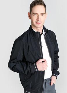Куртка-бомбер с воротником-стойкой O'stin