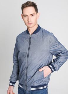 Куртка-бомбер из шамбре O'stin