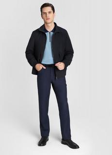 Куртка-бомбер с накладными карманами O'stin