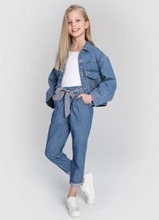 Джинсовая куртка для девочек O'stin
