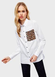 Блузка в леопардовый принт O'stin