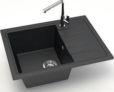 Кухонная мойка Zett Lab Модель 150 черный матовый T150Q004
