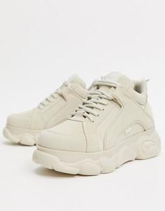 Кремовые кроссовки Buffalo-Белый