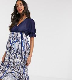 Платье с запахом Unique 21 Maternity-Мульти