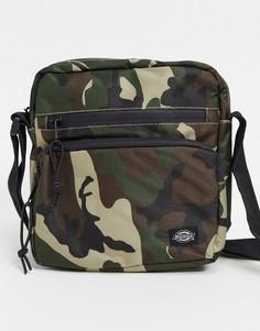 Камуфляжная сумка через плечо Dickies-Зеленый
