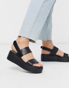 Черные сандалии на платформе ALDO-Черный