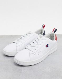 Белые кроссовки с отделкой Champion Court Club-Белый