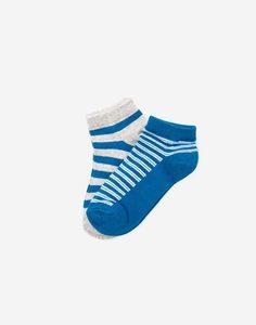 Комплект носков в полоску для мальчика 2 пары Gloria Jeans